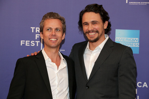 Ian Olds and James Franco