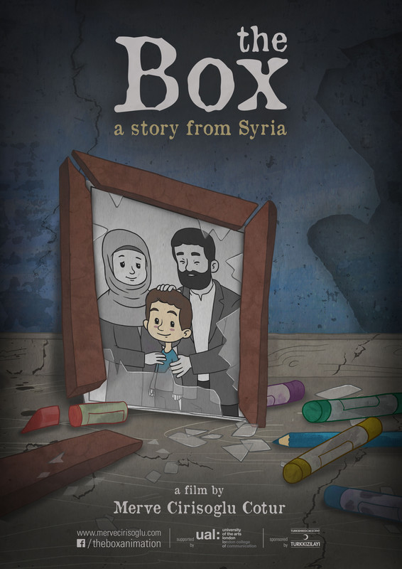 Poster Poster A3 The Box